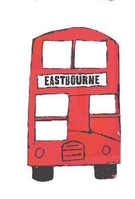 Red Eastbourne Bus  by Emmaaaacoo