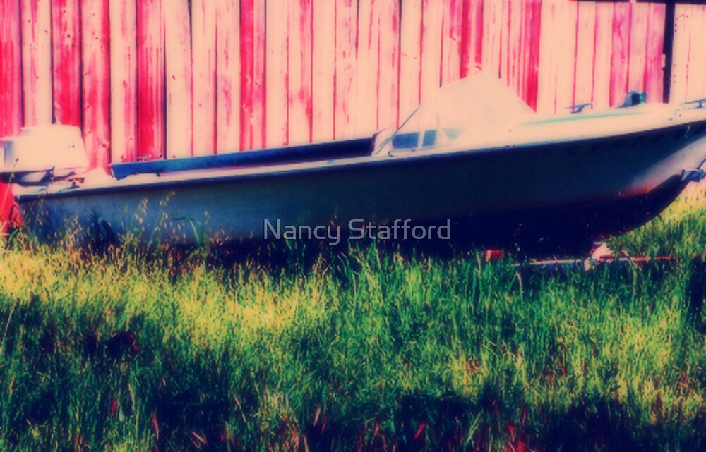 Old Boat by Nancy Stafford