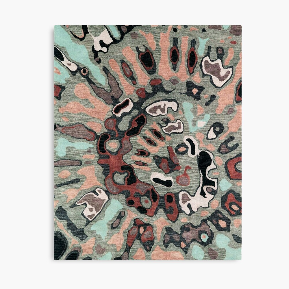 Art, Illustration, Modern, Contemporary, Psychedelic  Canvas Print