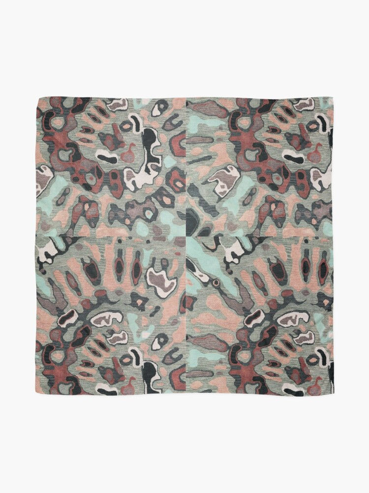 Alternate view of Art, Illustration, Modern, Contemporary, Psychedelic  Scarf
