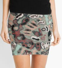 Art, Illustration, Modern, Contemporary, Psychedelic  Mini Skirt