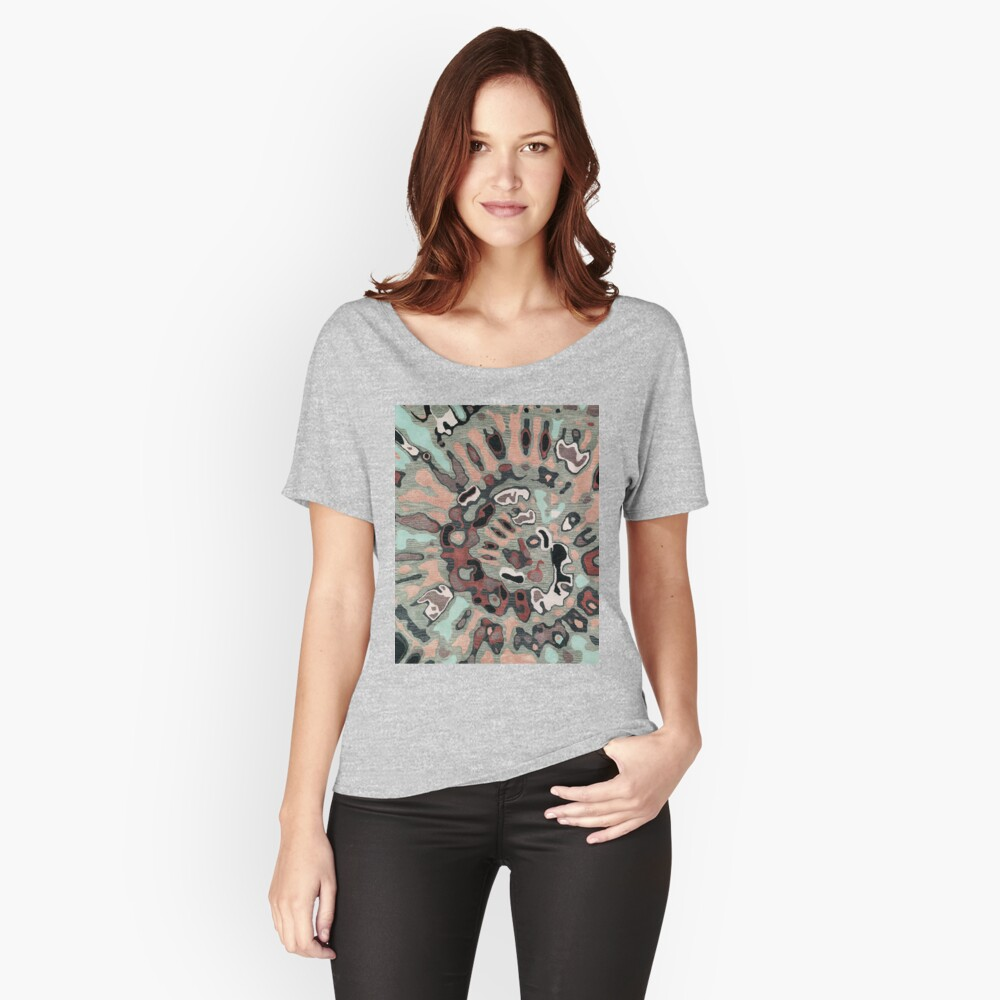 Art, Illustration, Modern, Contemporary, Psychedelic  Relaxed Fit T-Shirt