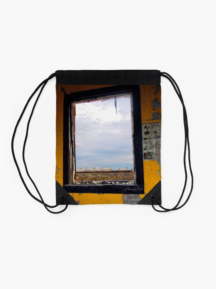 Alternate view of Picture Window Drawstring Bag