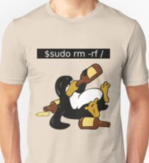 Funny Linux Command - Funny Linux shirts Linux Tux t-shirt  T-Shirt
