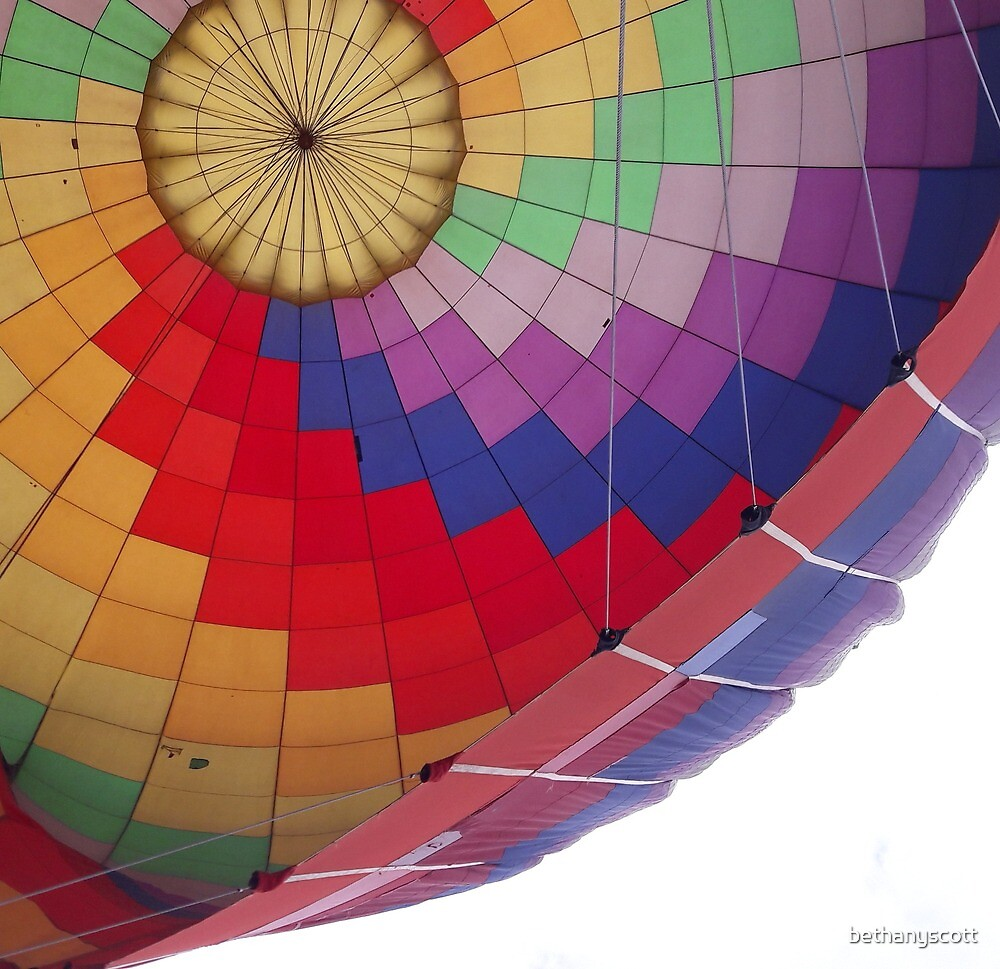 Hot air ballooning  by bethanyscott