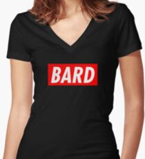 Bard Women's Fitted V-Neck T-Shirt
