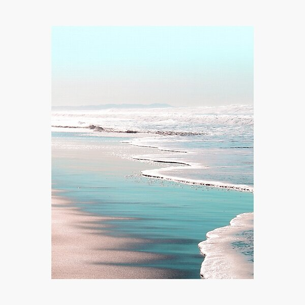 THE BEACH Photographic Print