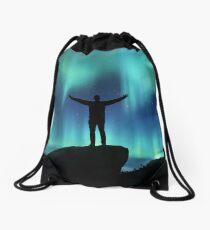 Boreal Freedom Drawstring Bag
