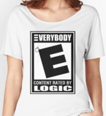 Logic Everybody (Rated E) Women's Relaxed Fit T-Shirt