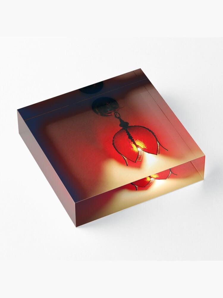 Alternate view of Lava Lamp Acrylic Block