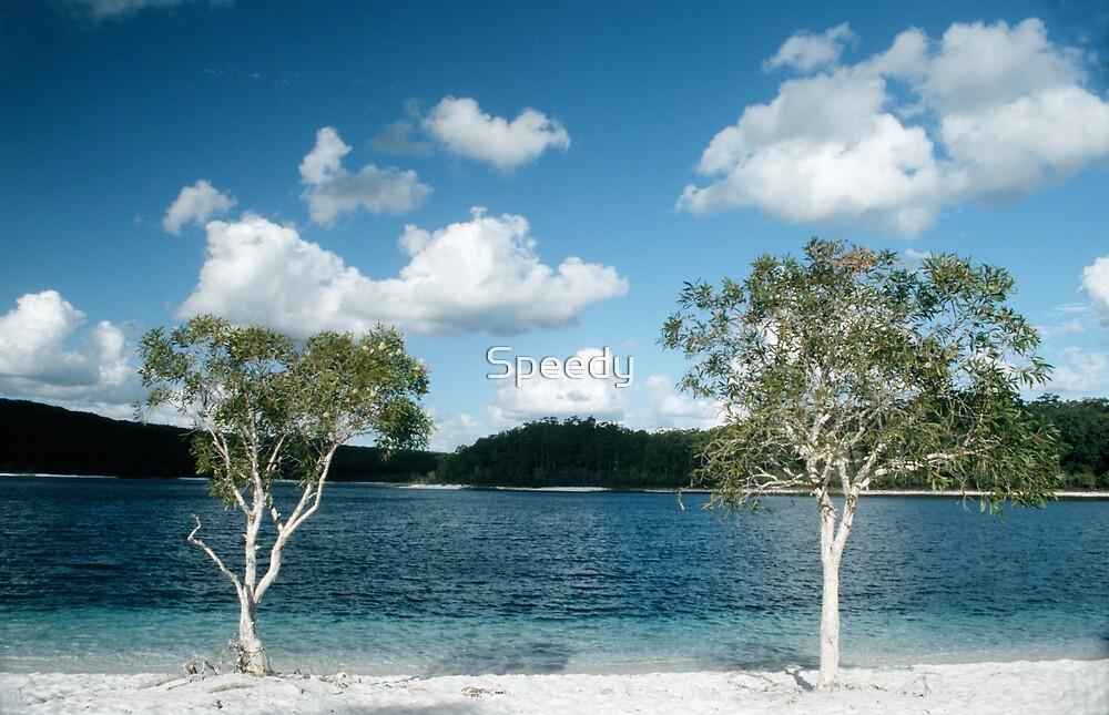 Lake MacKenzie on Fraser Island by Speedy