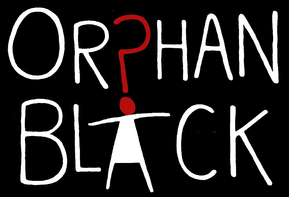 Orphan Black Title Print White by acciomegs