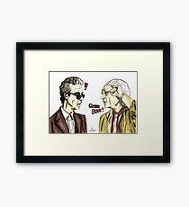 The Doctors meet Framed Print
