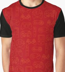 Gamers' Controllers - Rogue Red Graphic T-Shirt