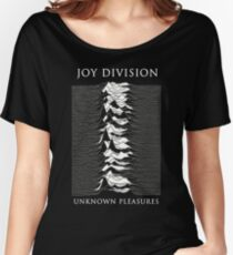 Joy Division Unknown Pleasures shirt re-design Women's Relaxed Fit T-Shirt
