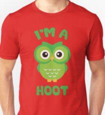 I'm A Hoot - Green Owl Unisex T-Shirt