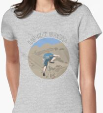 Plant-fueled Adventurer Womens Fitted T-Shirt