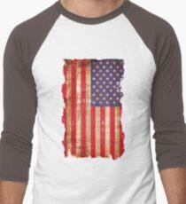 Vintage American flag Men's Baseball ¾ T-Shirt