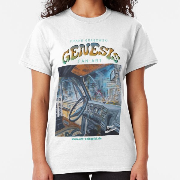 Genesis Fanart Fly on a Windshield from The Lamb Lies Down on Broadway by Frank Grabowski Classic T-Shirt