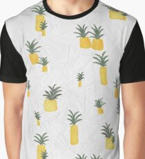 Pineapple Paper Graphic T-Shirt