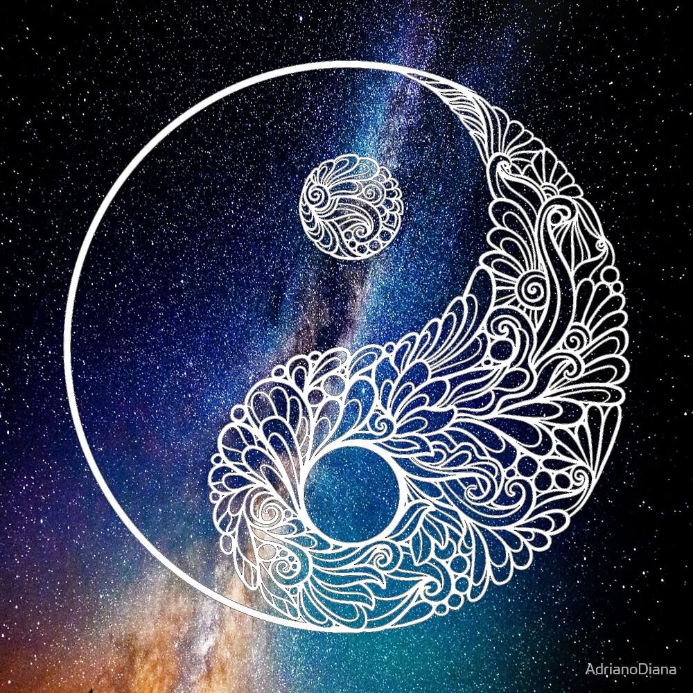Universe Yin Yang by AdrianoDiana