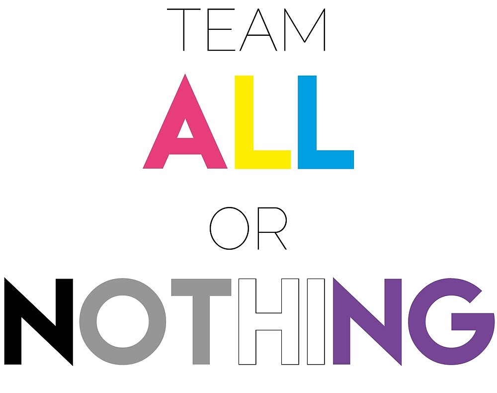 Team All or Nothing! by JolineCreations
