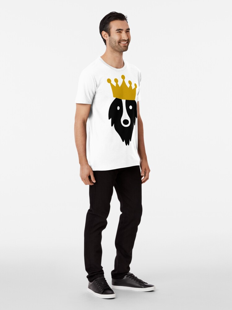 Alternate view of King Grogl™ Outlet Premium T-Shirt