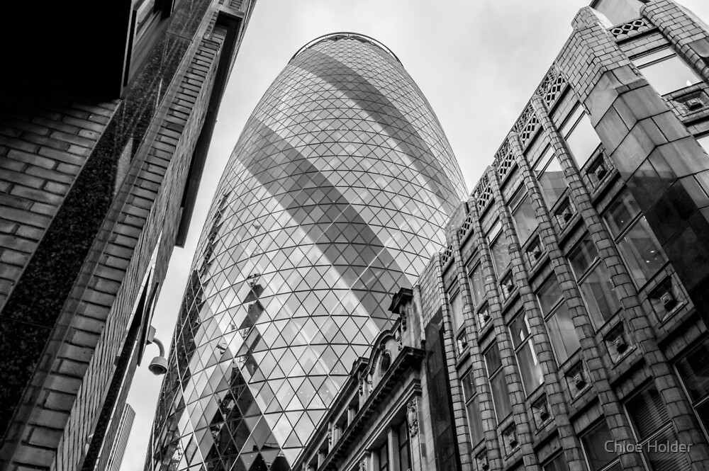 London Architecture Gherkin Photo by Chloe Holder