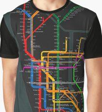 Nyc Subway Map Tshirt.Brooklyn Subway Map T Shirts Redbubble