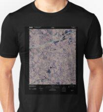 USGS TOPO Map Georgia GA Auburn 20110304 TM Inverted Unisex T-Shirt