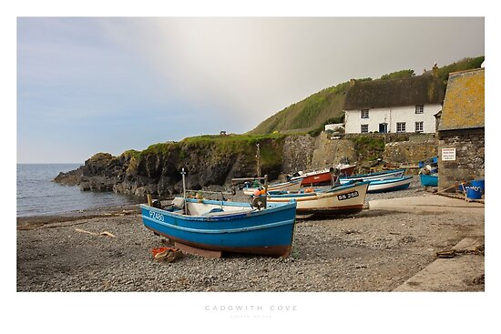 Cadgwith Cove, Cornwall by Andrew Roland