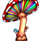 Psychedelic Mushroom by ogfx