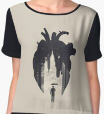 In the Heart of the City Women's Chiffon Top