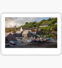 Cadgwith Cove, Cornwall Sticker