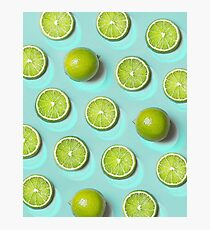 LIME FRUIT Photographic Print