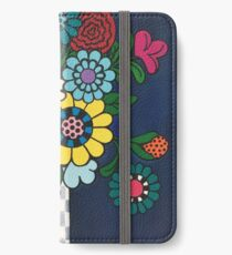 Checkered Bouquet iPhone Wallet/Case/Skin