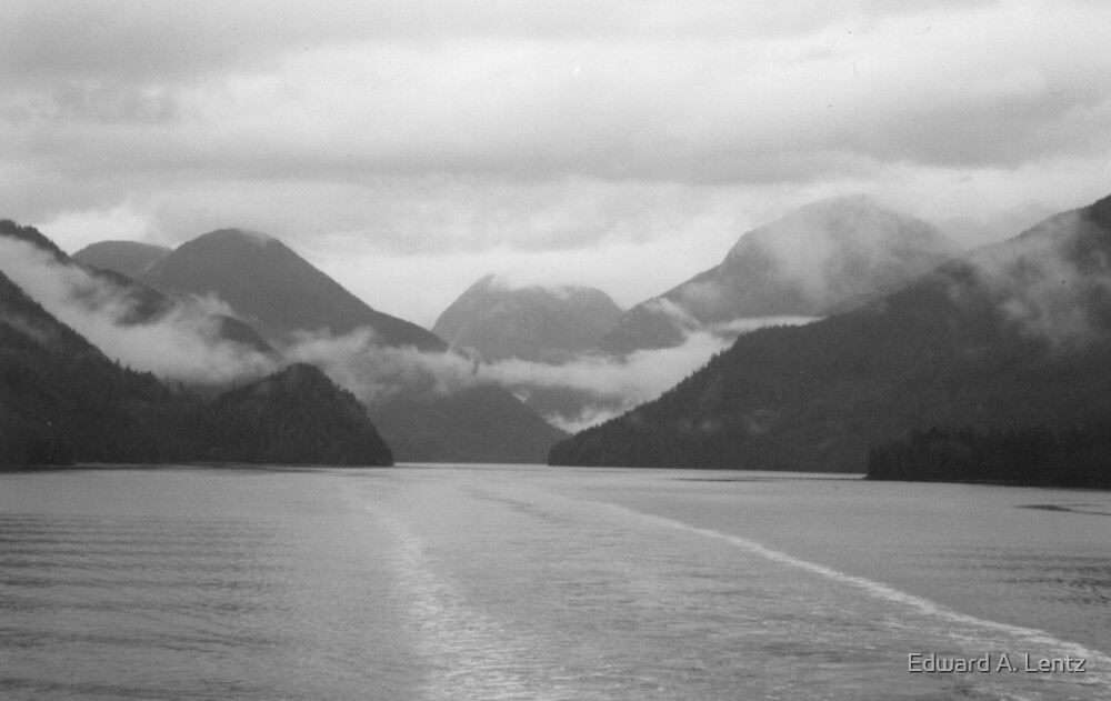 BC's Inside Passage (British Columbia, Canada) by Edward A. Lentz