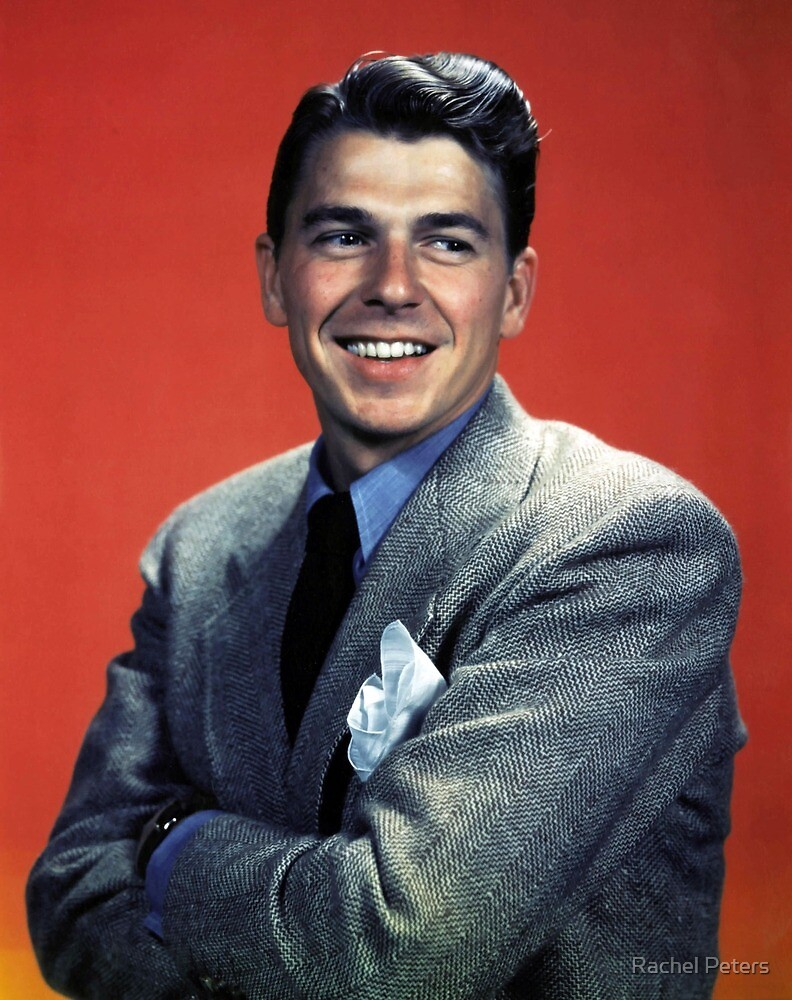 Ronald Reagan - Young by Rachel Peters