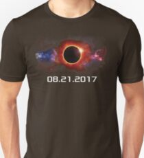 August 21 2017 Total Solar Eclipse Cool Fun Galaxy Design T-Shirt