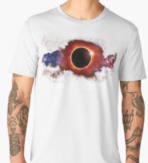 August 21 2017 Total Solar Eclipse Cool Fun Galaxy Design Men's Premium T-Shirt