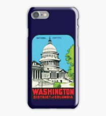 National Capitol Washinton District of Columbia 00413 iPhone Case/Skin