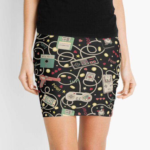 Favourite Game Black Mini Skirt