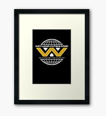 The Weyland-Yutani Corporation Globe - Clean Framed Print