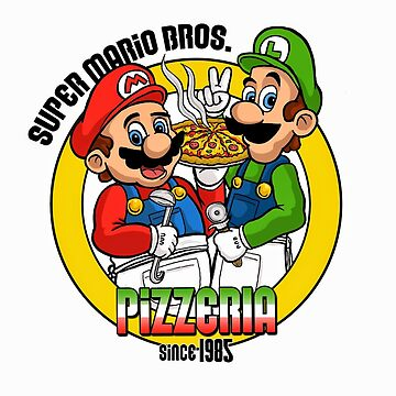 Super Mario pizza by NoWy