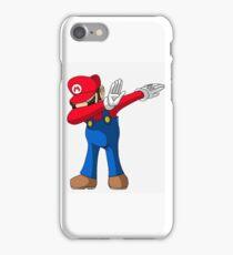 Iphone dabbing mario iPhone Case/Skin