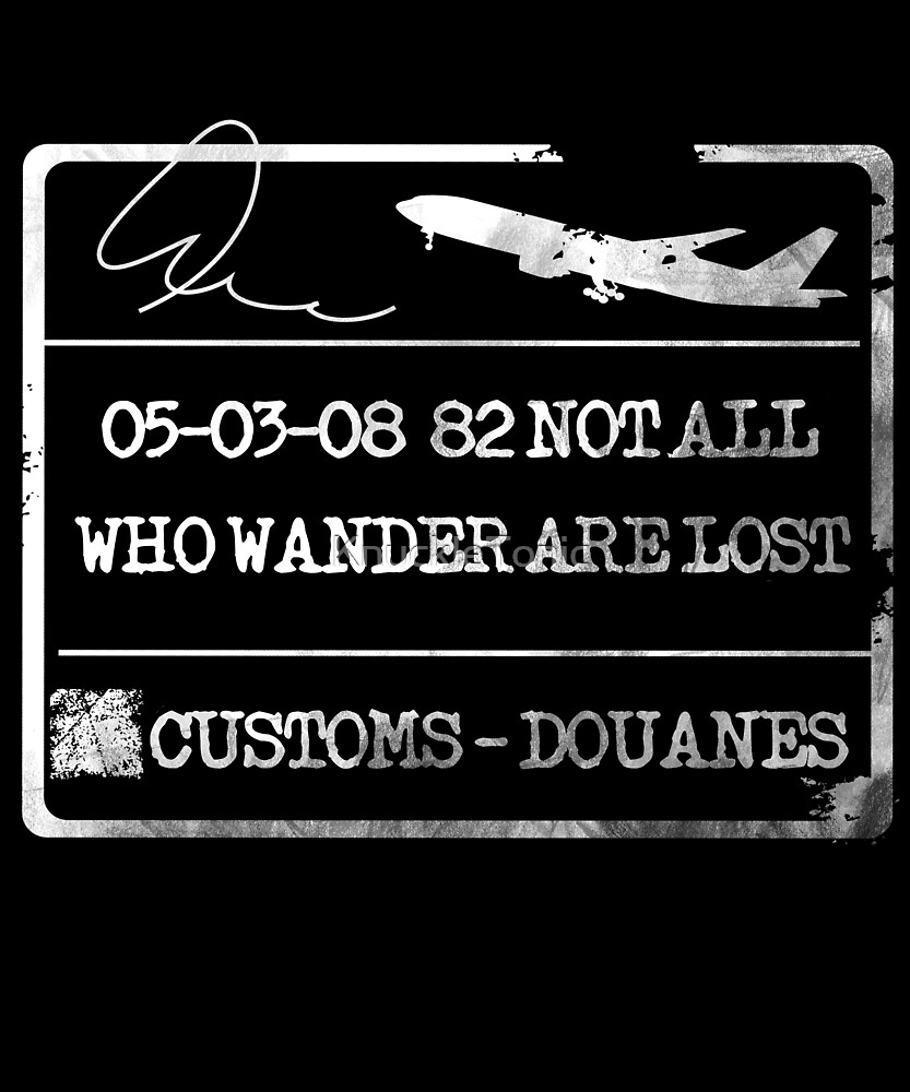 Not all who wander - Passport by KnuckleTonic