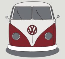 VW Splitwindow Kombi Front Small