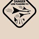 DANGER - LOW FLAILING V GUITARS by JettKredo