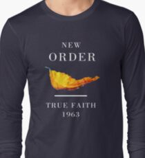 New Order Joy Division shirt True Faith  T-Shirt