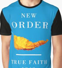New Order Joy Division shirt True Faith  Graphic T-Shirt